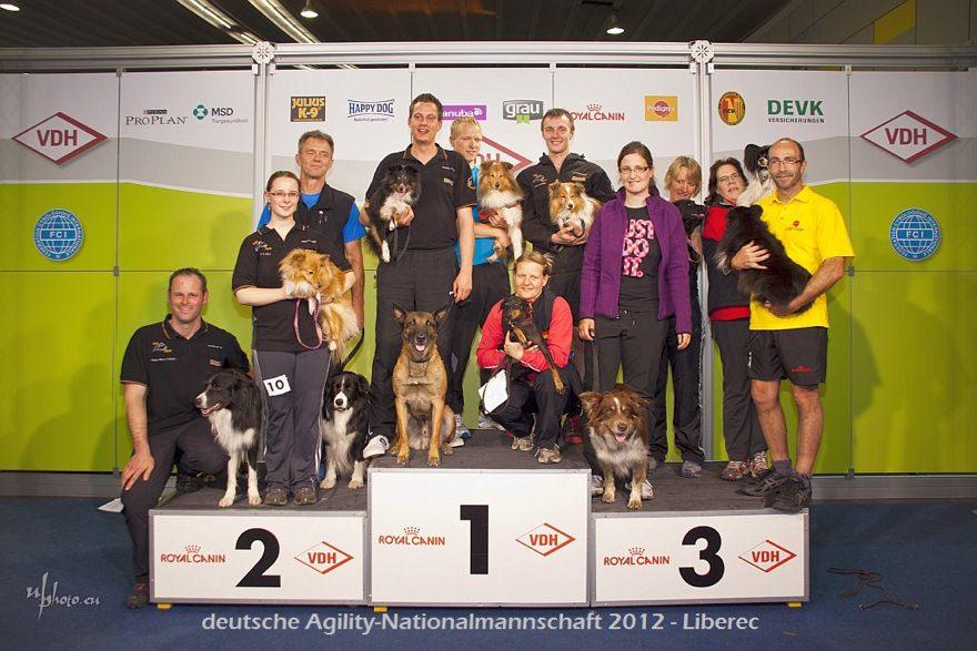 deutsche Agility Nationalmannschaft 2012