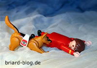 Rettungshunde beim Briard-Blog