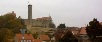am Abend zur Burg, Burg Abenberg in Abenberg
