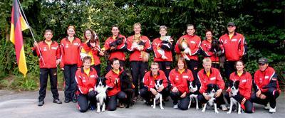 deutsche Agility Nationalmannschaft 2007