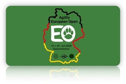 Ergebnisse der Agility European Open 2008