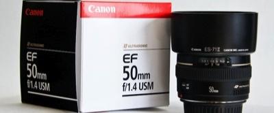 Canon EF 50mm 1:1.4 USM