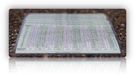 DOF Tabelle