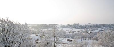 winterlich weiße Weihnachten 2008