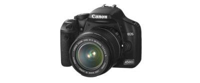 zur 450D bei Canon