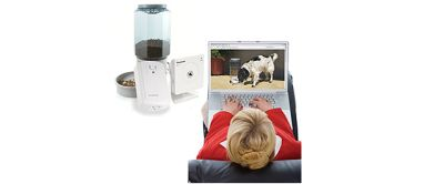 zu Remote Pet Feeding and viewing kit
