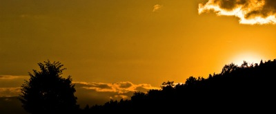Sonnenuntergang Ende Juni 08