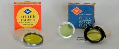 Agfa Optima 1 Filter Zubehör