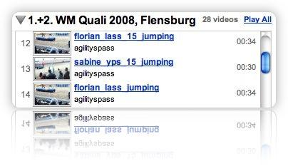 Viele Videos der 1. + 2. WM Quali 2008 bei Youtube