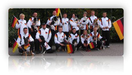 deutsche Agility Nationalmannschaft 2008