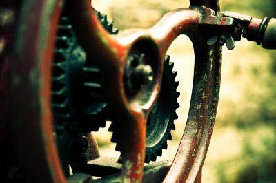 Neu im Fotoblog: Zahn(Rad) der Zeit