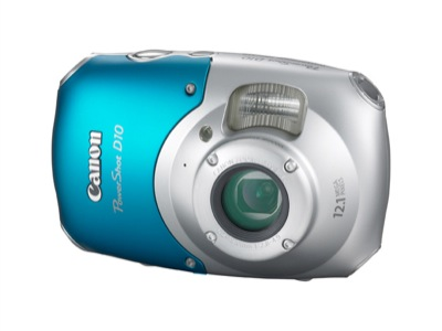PowerShot D10 von Canon