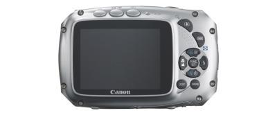 PowerShot D10 von Canon - Rückseite