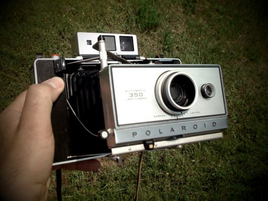 Polaroid Land Camera 350