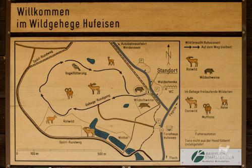 Wildgehege Hufeisen bei Pegnitz