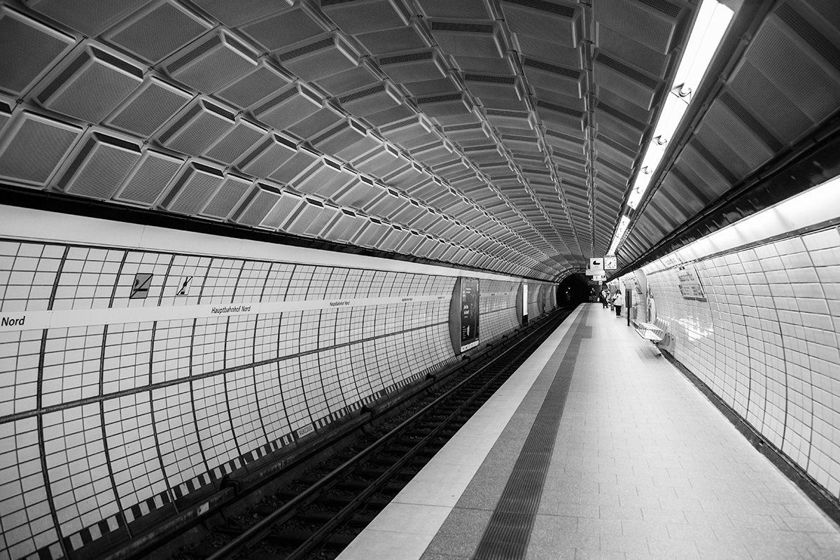 Hamburg U-Bahn Hauptbahnhof Nord