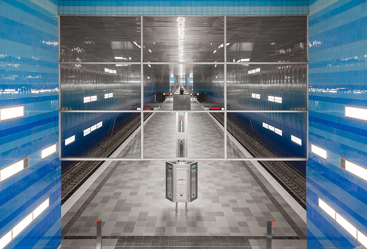 Hamburg U-Bahnstation Überseequartier